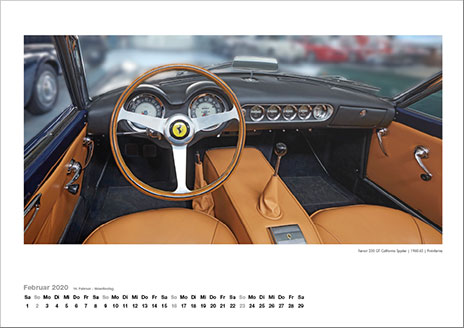 FERRARI DASHBOARDS 2020